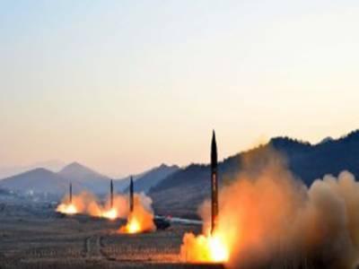 شمالی کوریا کا پھر امریکی دباﺅ اور عالمی پابندیوں کو مسترد کرکےمزید 3 بیلسٹک میزائل کے کامیاب تجربے کا دعوی