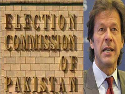 توہین عدالت کیس : الیکشن کمیشن کا عمران خان کے وارنٹ گرفتاری جاری کرنے کا حکم