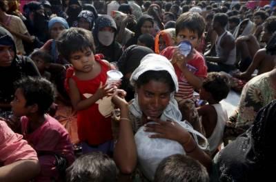 روہنگیا میں مسلمانوں کی نسل کشی جاری ،امریکی سینیٹ میںمیانمار پر پابندیوں کا بل پیش