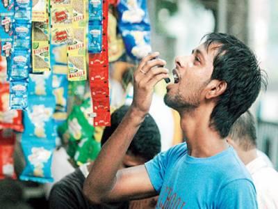 سندھ:گٹکا کے استعمال سے ہر سال 3ہزار افراد کینسر میں مبتلاہورہے ہیں