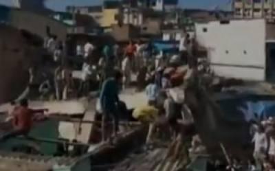 بھارت:عمارت گر نے سے ایک شخص ہلاک، متعدد زخمی