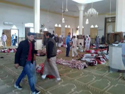 مصر : وادی سینا میں مسجد پر حملہ ، 235 افراد جاں بحق, متعدد زخمی
