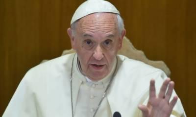 دنیا پہلے ہی خوف زدہ ہے،امریکی فیصلہ کشیدگی بڑھائےگا:پوپ فرانسس