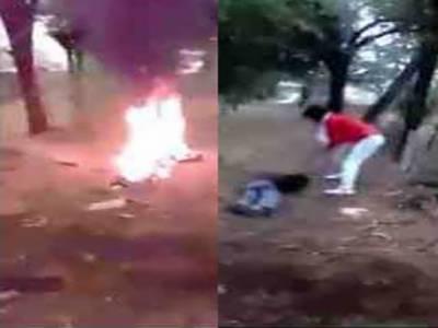 ہندو لڑکی سے محبت کا الزام، راجھستان میں انتہا پسند غنڈوں نے مسلم نوجوان کو کلہاڑیوں سے قتل کرکے نعش جلا دی