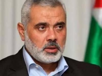 حماس کا القدس سے متعلق امریکی اعلان پر نئی انتفاضہ (جدو جہد آزادی) تحریک چلانے کا اعلان