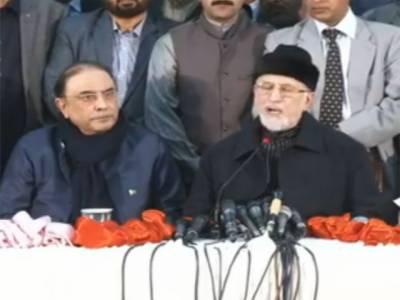 وزیر اعلی پنجاب فوری طور پر استعفی دیں : زرداری، طاہر القادری