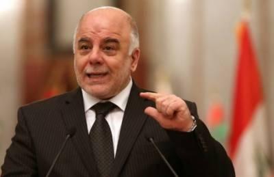عراقی وزیراعظم کا داعش کوشکست دینے کا اعلان