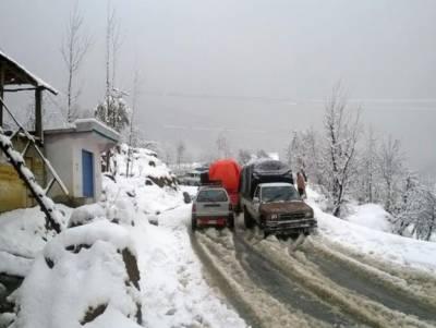 ملک کے مختلف علاقوں میں بارشوں اور برفباری کا امکان
