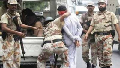 کراچی:رینجرز کی کارروائیاں، 13ملزمان گرفتار