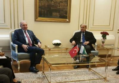 وزیر اعلیٰ پنجاب شہباز شریف کی استنبول کے میئر میلوت یوسال سے ملاقات