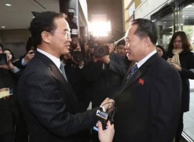 شمالی و جنوبی کوریا کشیدگی کم کرنے پر رضامند، امریکہ کا خیرمقدم