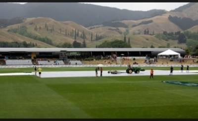 پاکستان انڈر 19 کرکٹ ٹیم کا دوسرا وارم اپ میچ بارش کی نذر