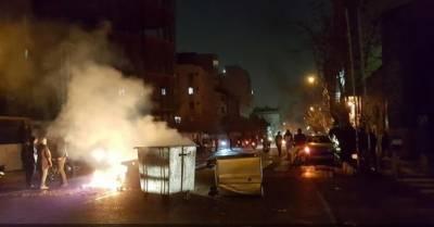ایران میں نظام مخالف احتجاجی تحریک ، 8000 افراد گرفتار