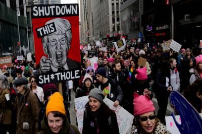 ٹرمپ کے خلاف 250شہروں میں لاکھوں خواتین کا احتجاجی مظاہرہ