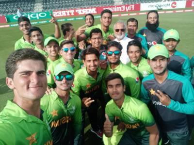 انڈر 19 ورلڈ کپ: پاکستان نے جنوبی افریقہ کو شکست دے کر سیمی فائنل کیلئے کوالیفائی کرلیا