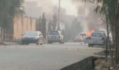 ا فغانستان : بچوں کی این جی او کے دفتر پر کار بم حملہ،11افراد زخمی