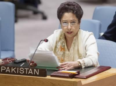 مسئلہ کشمیر اور فلسطین حل نہ کرایا گیا تو لوگ اقوام متحدہ پر اعتماد کھودیں گے: ملیحہ لودھی