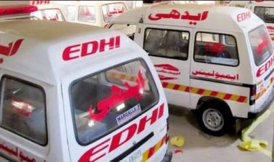 وزیر آباد :مسافر بس اور ویگن میں تصادم ، 6 افراد جاں بحق،خواتین سمیت 20 زخمی