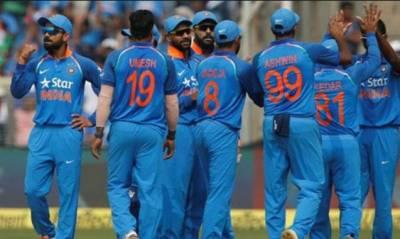آئی سی سی ون ڈے رینکنگ: بھارت کا پہلی پوزیشن پر قبضہ