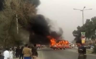 راولپنڈی:گوجر خان میں بس نے طالبعلم کو کچل ڈالا ، موقع پر جاں بحق