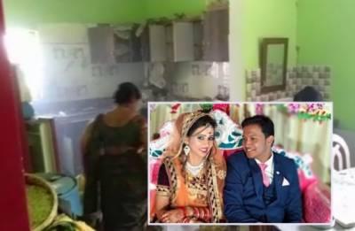 نئی دہلی:شادی کا تحفہ کھولتے ہی دھماکہ،دلہا نانی سمیت ہلاک،دلہن کی حالت تشویش ناک