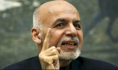 کابل:ماضی کو بھلا کر پاکستان سے مذاکرات کے خواہش مند ہیں،صدر اشرف غنی