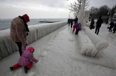 یورپ میں شدید سردی کی لہر بر قرار،ہلاکتوں کی تعداد 46ہوگئی