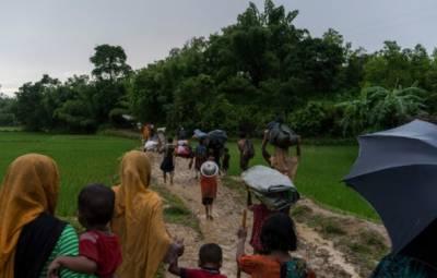 میانمار سرحد پر واقع رووہنگیا کیمپ سے فوجی ہٹا دے: بنگلہ دیش کا مطالبہ