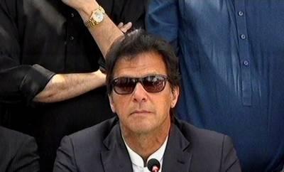 ساری قوم سیاستدانوں پرلعنت بھیج رہی ہے،ایک ایم پی اے کا ضمیرخریدنے کے لیے 4کروڑ کی قیمت لگی:عمران خان