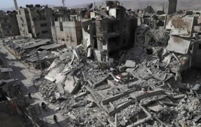 شامی فوج کی مشرقی غوطہ میں کارروائیاں,2 ہفتوں کے دوران ہلاکتیں ایک ہزار سے تجاوز کرگئیں