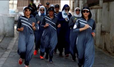 سعودی عرب :نئے اقدامات کے تحت خواتین کو پبلک مقامات پر جاگنگ کی اجازت مل گئی