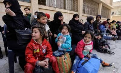 شامی فوج کے حملے جاری ،مشرقی الغوطہ سے بیماروں اور زخمیوں کے انخلا کا آغاز