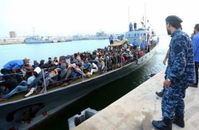 لیبیا:انسانی سمگلنگ کے نیٹ ورک میں شامل دو سو افراد کو حراست میں لینے کے لیے وارنٹ جاری