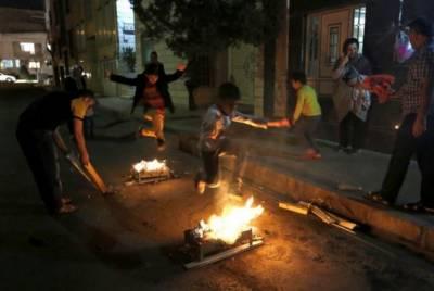 ایران میں آگ کے سالانہ تہوار میں 4 افراد ہلاک، ہزاروں زخمی