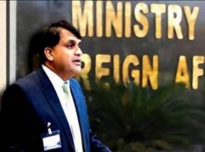 دفترخارجہ کا بھارت میں پاکستانی سفارتکاروں،عملےاور ان کے اہل خانہ کو ہراساں کئے جانے پر پاکستانی ہائی کمشنر واپس طلب