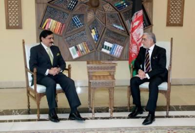 مشیر قومی سلامتی لیفٹیننٹ جنرل (ر)ناصر جنجوعہ کی افغان چیف ایگزیکٹو عبداللہ عبداللہ سے ملاقات