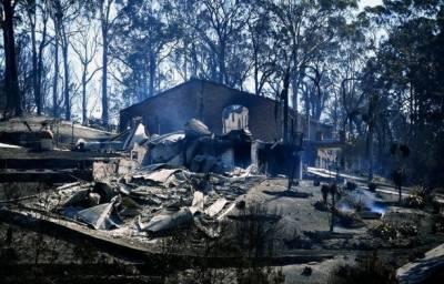 آسٹریلیا میں آتشزدگی سے 69 گھرخاکستر، 1500سے زائد مکین بے گھر