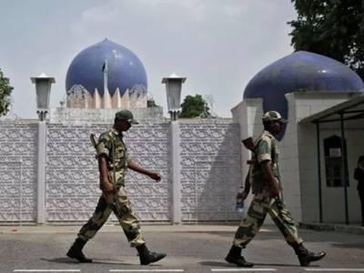 بھارت کی سفارتی جارحیت بھی کم ہونے کا نام ہی نہیں لے رہی ،ایک ہی روز میں پانچ سفارتی اہلکاروں کو ہراساں کیا گیا