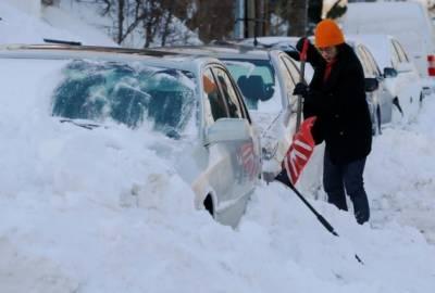 امریکہ کی شمالی ریاستوں میں شدید برف باری,نظام زندگی مفلوج