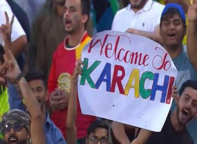 پی ایس ایل فائنل کے بعد نیشنل سٹیڈیم کراچی انٹر نیشنل کر کٹ کی میزبانی کیلئے تیار ،ٹکٹس کی فروخت شروع