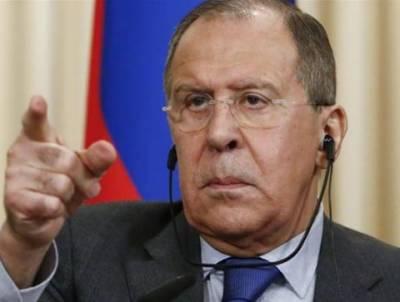 روس مغربی ملکوں کی گستاخی پرخاموش نہیں رہے گا: سرگئی لاوروف