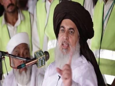 تحریک لبیک کے سربراہ خادم حسین رضوی کو سانگلہ ہل موٹروے انٹرچینج پر پولیس نے روک لیا 'بعد میں جانے کی اجازت دیدی