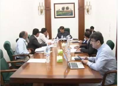 وزیراعلیٰ سندھ کی زیر صدارت محکمہ آبپاشی سے متعلق اہم اجلاس