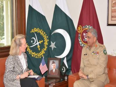 آرمی چیف سے ایلس جے ویلز کی ملاقات: پاکستان، امریکہ کا الزام تراشیوں کی بجائے امن کیلئے مثبت تعاون جاری رکھنے کا عزم