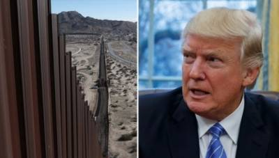 ٹرمپ کا میکسیکو کی سرحد پر فوج تعینات کر نے کااعلا ن