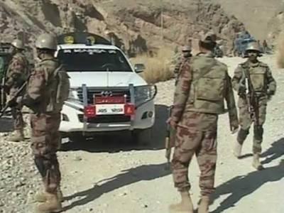 آپریشن ردالفساد: سیکیورٹی فورسز کا بلوچستان کے علاقے دشت کے نواح میں آپریشن،2دہشتگردہلاک