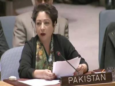 بھارتی جارحیت سے عالمی امن اور سلامتی کو خطرہ ہے,پاکستان مشن اقوام متحدہ میں کشمیریوں کی آواز ہے:ملیحہ لودھی