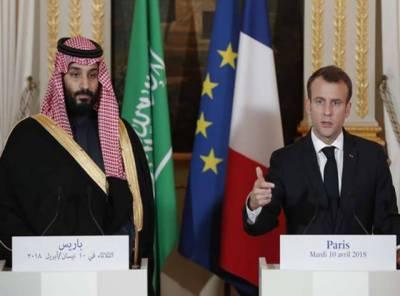 سعودی عرب اور فرانس کے مابین 18 ارب ڈالر کے معاہدے