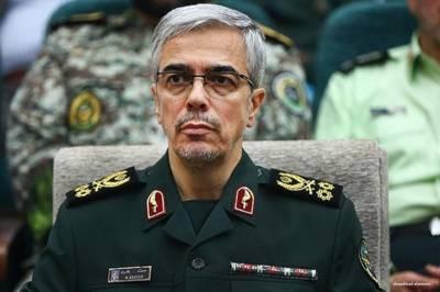 ایران شامی حکومت اور عوام کیساتھ ہے,جارحیت کا ارتکاب کرنیواں کو وحشیانہ اقدام کا کوئی فائدہ نہیں پہنچے گا: میجر جنرل محمد باقری