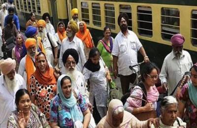 سکھ یاتریوں کی خصوصی ٹرینوں کے ذریعے حسن ابدال سے ننکانہ صاحب آمد